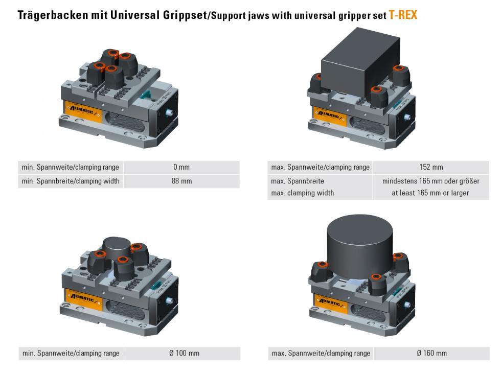 Allmatic Bestellsystem / eShop | Support jaw for universal gripper