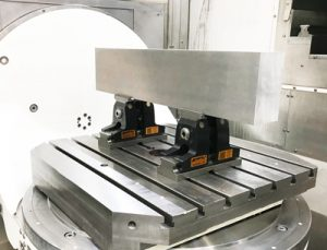 TeleCentric - clamping device for 5-axis machining
